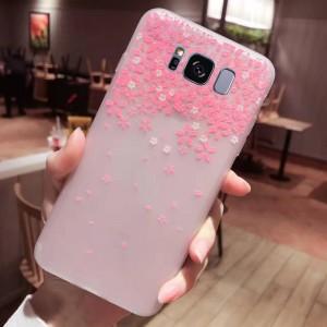 Силиконовый матовый чехол с принтом для Samsung G950 Galaxy S8