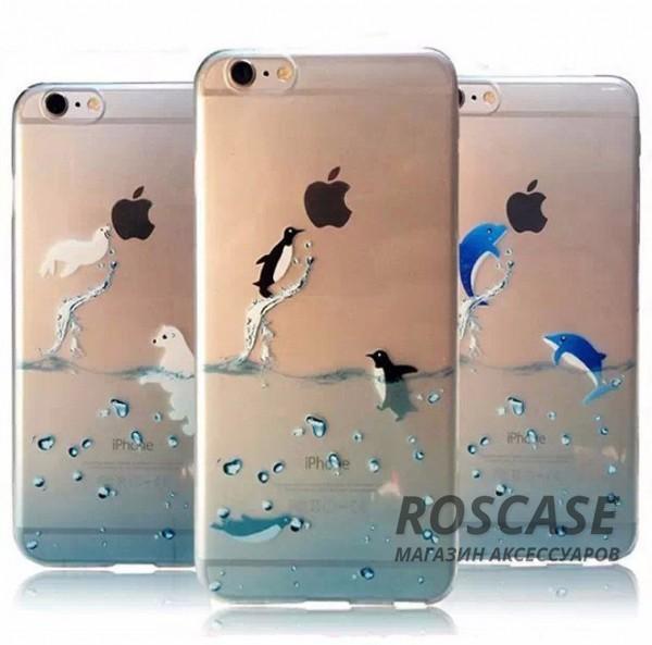 """Фото Ультратонкий силиконовый чехол Ultrathin 0,33mm Ocean для Apple iPhone 6/6s (4.7"""")"""