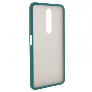 Противоударный матовый полупрозрачный чехол  для Xiaomi Redmi K30