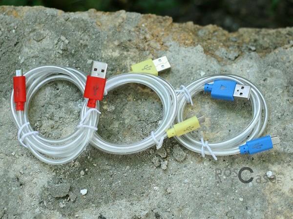 фото дата кабеля  (светящийся треугольник) Navsailor MicroUSB (C-L501)