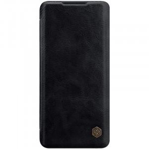 Nillkin Qin | Чехол-книжка из Premium экокожи  для Xiaomi Mi Note 10 Lite