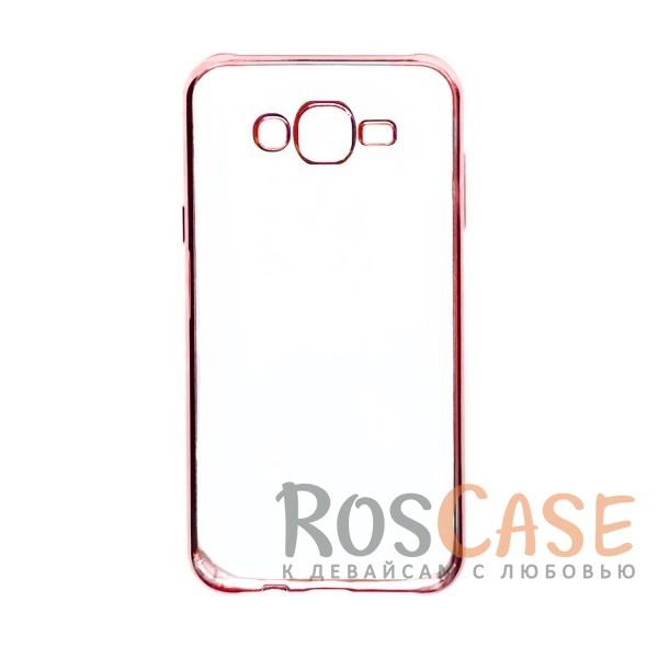 Прозрачный силиконовый чехол для Samsung J700H Galaxy J7 с глянцевой окантовкой (Розовый)Описание:подходит для Samsung J700H Galaxy J7;материал - силикон;тип - накладка.Особенности:глянцевая окантовка;прозрачный центр;гибкий;все вырезы в наличии;не скользит в руках;ультратонкий.<br><br>Тип: Чехол<br>Бренд: Epik<br>Материал: Силикон