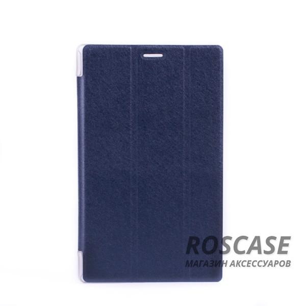 Кожаный чехол-книжка TTX Elegant Series для Asus ZenPad 8.0 (Z380C) (Синий)Описание: производитель: компания TTX;подходит девайсам: Asus ZenPad 8.0 (Z380C);изготовлен из материалов: пластик, полиуретан, искусственный материал под кожу;форма: чехол в виде книжки.Особенности: современная технологическая обработка;полное соответствие форме устройства;необходимые разъемы;уникальная поверхность чехла.<br><br>Тип: Чехол<br>Бренд: TTX<br>Материал: Искусственная кожа