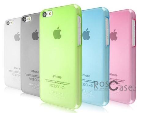 Пластиковая накладка IMAK 0,7 mm Color series для Apple iPhone 5C<br><br>Тип: Чехол<br>Бренд: iMak<br>Материал: Пластик