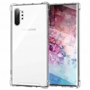 King Kong Armor | Противоударный прозрачный чехол для Samsung Galaxy Note 10 Plus с дополнительной защитой углов