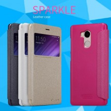 Nillkin Sparkle | Чехол-книжка с окошком для Xiaomi Redmi 4 Pro / Redmi 4 Prime