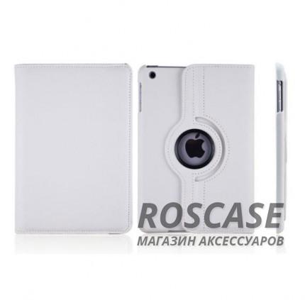 Кожаный чехол-книжка TTX (360 градусов) для Apple iPad mini 4 (Белый)Описание:производитель -&amp;nbsp;TTX;совместим с Apple iPad mini 4;материалы  -  кожзам и микрофибра;форма  -  чехол-книжка.&amp;nbsp;Особенности:возможность вращения на 360 градусов;превращение чехла в удобную подставку;защита от ударов и падений;износостойкость.<br><br>Тип: Чехол<br>Бренд: TTX<br>Материал: Искусственная кожа