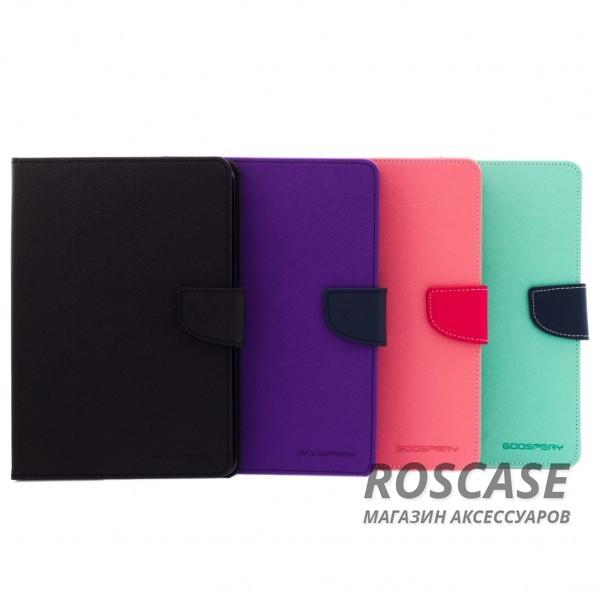 Чехол (книжка) Mercury Fancy Diary series для iPad Mini / iPad Mini Retina/ iPad mini 3Описание:производитель  -  бренд&amp;nbsp;Mercury;совместим с iPad Mini / iPad Mini Retina/ ipad mini 3;материалы  -  искусственная кожа, термополиуретан;форма  -  чехол-книжка.&amp;nbsp;Особенности:рельефная поверхность;все функциональные вырезы в наличии;внутренние кармашки;магнитная застежка;защита от механических повреждений;трансформируется в подставку.<br><br>Тип: Чехол<br>Бренд: Mercury<br>Материал: Искусственная кожа