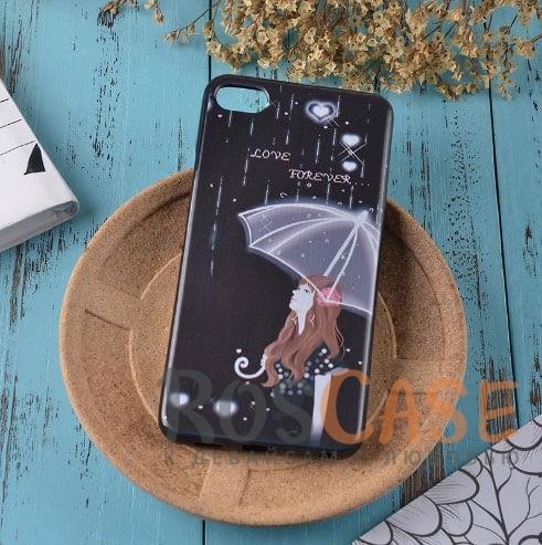 TPU чехол Sweet Art для Meizu U10 (Девушка под зонтом)<br><br>Тип: Чехол<br>Бренд: Epik<br>Материал: TPU