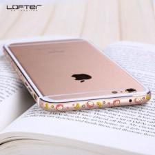 "Lofter Cutie | Металлический бампер для Apple iPhone 6/6s (4.7"") с рисунком зверушек"