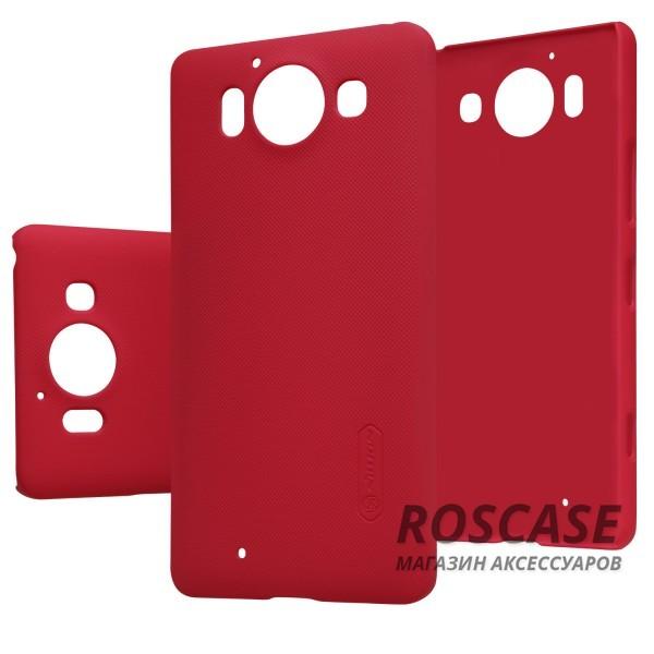 Чехол Nillkin Matte для Microsoft Lumia 950 (+ пленка) (Красный)Описание:производство: компания Nillkin;полная совместимость с устройством: Microsoft Lumia 950;материал изготовления: поликарбонат;тип модификации: чехол- накладка + защитная пленка в комплекте.Особенности:надежное качество;классический дизайн;многофункциональное применение;ультратонкий аксессуар.<br><br>Тип: Чехол<br>Бренд: Nillkin<br>Материал: Поликарбонат