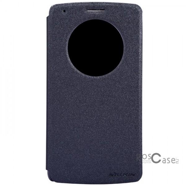 Кожаный чехол (книжка) Nillkin Sparkle Series для LG D855/D850/D856 Dual G3 (Черный)Описание:Изготовлен компанией Nillkin;Спроектирован персонально для LG D855/D850/D856 Dual G3;Материал: синтетическая кожа и поликарбонат;Форма: чехол в виде книжки.Особенности:Исключается появление царапин и возникновение потертостей;Восхитительная амортизация при любом ударе;Фактурная поверхность;Удобное интерактивное окошко;Не подвергается деформации;Непритязателен в уходе.<br><br>Тип: Чехол<br>Бренд: Nillkin<br>Материал: Искусственная кожа