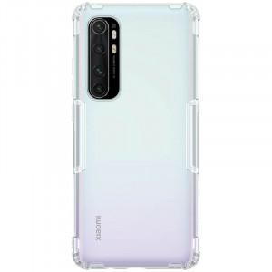 Nillkin Nature | Прозрачный силиконовый чехол  для Xiaomi Mi Note 10 Lite
