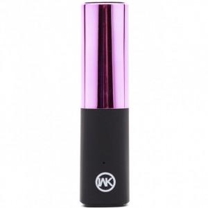 WK (WP-004) | Портативное зарядное устройство Power Bank Lipstick 2400mah (1 USB 2.1A)