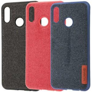 Label Textile | Ультратонкий чехол для Huawei P20 Lite с текстильным покрытием