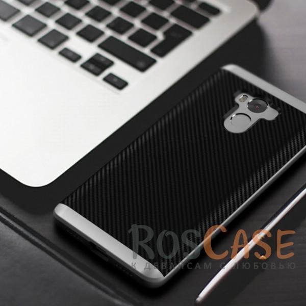 Фото Черный / Серебряный iPaky Hybrid | Противоударный чехол для Xiaomi Redmi 4 Pro / Redmi 4 Prime