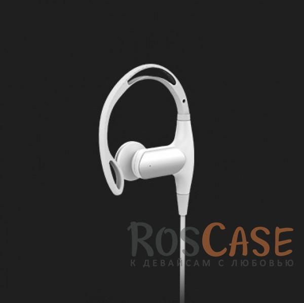 Наушники ROCK S1 (Bluetooth) (Белый / White)Описание:бренд&amp;nbsp;Rock;материал: пластик, силикон.совместимость: универсальная;тип: беспроводные вакуумные наушники.<br><br>Тип: Наушники/Гарнитуры<br>Бренд: ROCK