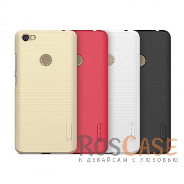 Матовый чехол Nillkin Super Frosted Shield для Xiaomi Redmi Note 5A Prime / Redmi  Y1 (+ пленка)Описание:бренд&amp;nbsp;Nillkin;совместимость: Xiaomi Redmi Note 5A Prime / Redmi  Y1;материал: поликарбонат;тип: накладка;закрывает заднюю панель и боковые грани;защищает от ударов и царапин;рельефная фактура;не скользит в руках;ультратонкий дизайн;защитная плёнка на экран в комплекте.<br><br>Тип: Чехол<br>Бренд: Nillkin<br>Материал: Поликарбонат