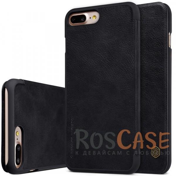Кожаный чехол (книжка) Nillkin Qin Series для Apple iPhone 7 plus (5.5) (Черный)Описание:производитель:&amp;nbsp;Nillkin;совместим с Apple iPhone 7 plus (5.5);материал: натуральная кожа;тип: чехол-книжка.&amp;nbsp;Особенности:защита от механических повреждений;ультратонкий;фактурная поверхность;внутренняя отделка микрофиброй.<br><br>Тип: Чехол<br>Бренд: Nillkin<br>Материал: Искусственная кожа