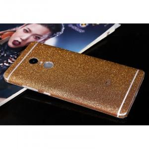 Виниловая наклейка на обе стороны Glitter series для Xiaomi Redmi Note 4X (MediaTek)