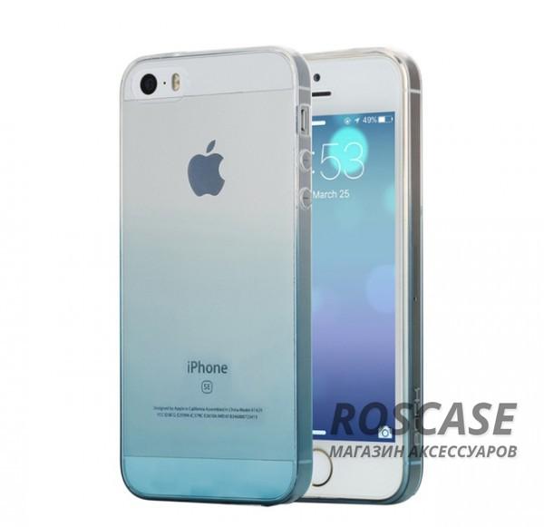 TPU чехол ROCK Iris series для Apple iPhone 5/5S/SE (Синий / Transparent Blue)Описание:производитель  -  Rock;форм-фактор  -  чехол-накладка;материалы  -  термополиуретан (TPU);совместим с Apple iPhone 5/5S/SE.Особенности:тип защиты  -  бортики, тыльная панель;выемки под внешние порты, камеру, колонку, регулятор громкостилегкая очистка;тонкий дизайн.<br><br>Тип: Чехол<br>Бренд: ROCK<br>Материал: TPU