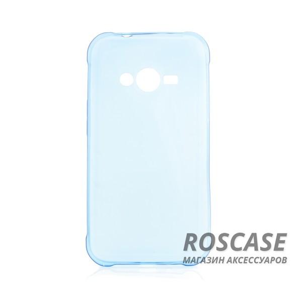 TPU чехол Ultrathin Series 0,33mm для Samsung J110 Galaxy J1 Duos (Синий (прозрачный))Описание:изготовлен компанией&amp;nbsp;Epik;разработан для Samsung J110 Galaxy J1 Duos;материал: термополиуретан;тип: накладка.&amp;nbsp;Особенности:толщина накладки - 0,33 мм;прозрачный;эластичный;надежно фиксируется;есть все функциональные вырезы.<br><br>Тип: Чехол<br>Бренд: Epik<br>Материал: TPU
