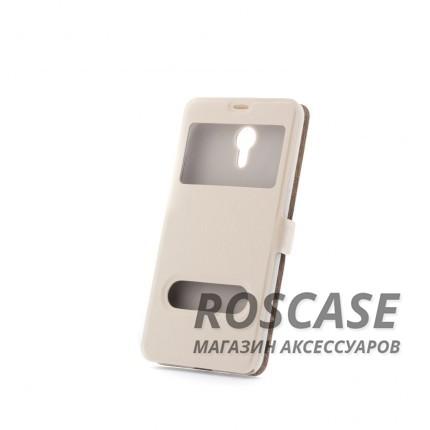 Чехол (книжка) с PC креплением для Meizu M2 Note (Белый)Описание:разработан компанией&amp;nbsp;Epik;спроектирован для Meizu M2 Note;материалы: синтетическая кожа, поликарбонат;тип: чехол-книжка.&amp;nbsp;Особенности:имеются все функциональные вырезы;не скользит в руках;магнитная застежка;окошки в обложке;защита от ударов и падений;превращается в подставку.<br><br>Тип: Чехол<br>Бренд: Epik<br>Материал: Искусственная кожа