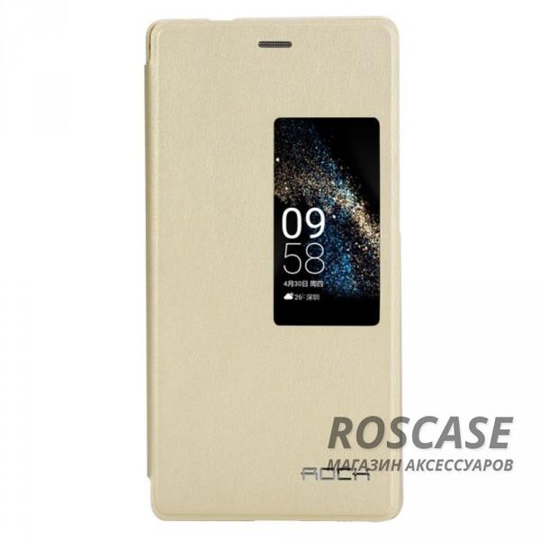 Чехол (книжка) Rock Touch series для Huawei Ascend P8 (Золотой / Gold)Описание:производитель - ROCK;совместим с&amp;nbsp;Huawei Ascend P8;материал: искусственная кожа;тип: чехол-книжка.Особенности:все функциональные вырезы в наличии;функция Smart window;защита от механических повреждений;матовый;не скользит в руках.<br><br>Тип: Чехол<br>Бренд: ROCK<br>Материал: Искусственная кожа