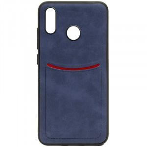 ILEVEL | Чехол с кожаным покрытием и с карманом-визитницей для Huawei P Smart+ (nova 3i)