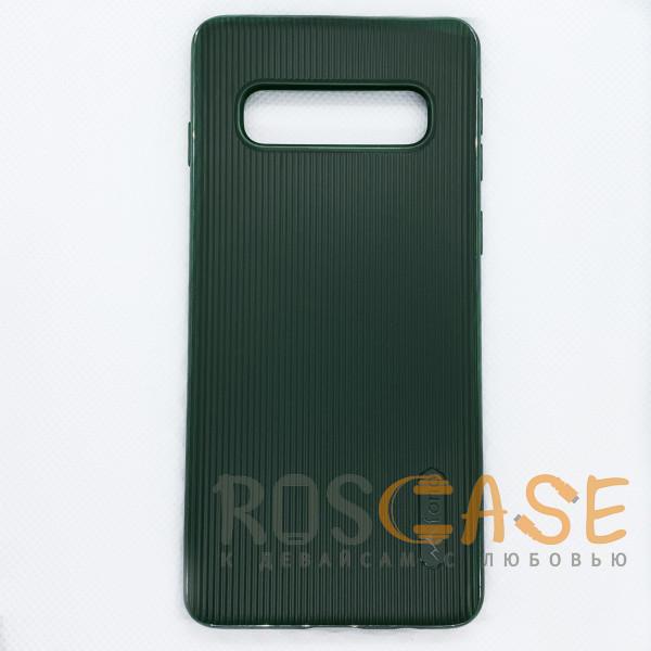 Фото Зеленый Силиконовая накладка Fono для Samsung Galaxy S10