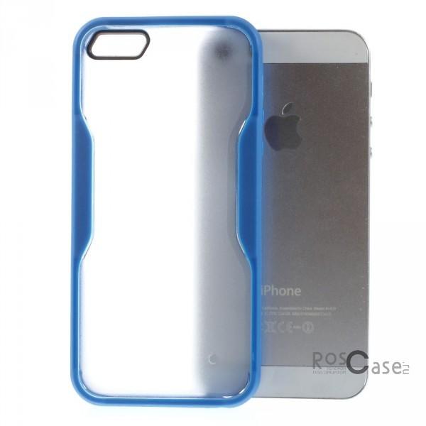TPU+PC чехол 0.5мм для Apple iPhone 5/5S/SEОписание:компания-производитель  -  Epik;разработан специально для Apple iPhone 5/5S/5SE;материалы  -  полиуретан, поликарбонат;тип  -  накладка.&amp;nbsp;Особенности:ультратонкий;поликарбонатная окантовка;все функциональные вырезы в наличии;легко очищается;не скользит в руках;защищает от ударов и царапин;не трескается.<br><br>Тип: Чехол<br>Бренд: Epik<br>Материал: TPU