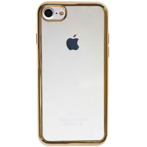 """Силиконовый чехол для Apple iPhone 7 (4.7"""") с глянцевой окантовкой"""