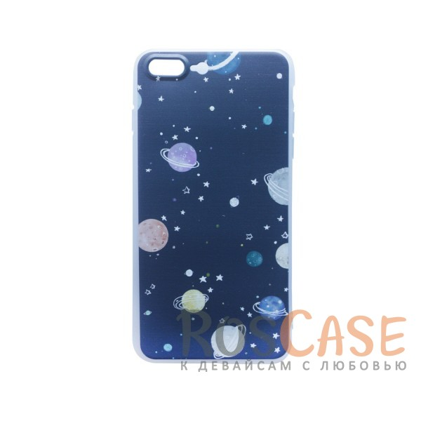 TPU чехол Print для Apple iPhone 7 plus (5.5) (Галактика)<br><br>Тип: Чехол<br>Бренд: Epik<br>Материал: TPU