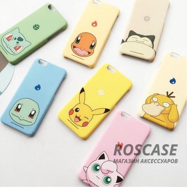 Ультратонкий цветной TPU чехол Pokemon Go для Apple iPhone 6/6s (4.7)Описание:разработан для&amp;nbsp;Apple iPhone 6/6s (4.7);материал: термопластичный полиуретан;форма: накладка.&amp;nbsp;Особенности:ультратонкий дизайн;оригинальный принт (покемоны);эластичный и гибкий;плотное прилегание;полный набор функциональных вырезов.<br><br>Тип: Чехол<br>Бренд: Epik<br>Материал: TPU