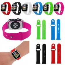 Силиконовый ремешок для Apple watch 38mm