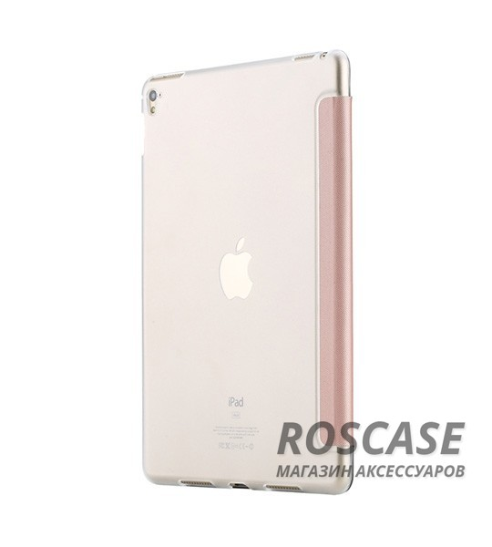фото Розовый / Rose Gold Чехол (книжка) Rock Veena Series для Apple iPad Pro 9,7
