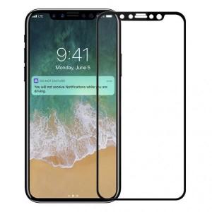 Защитное стекло с цветной рамкой на весь экран для Защитное стекло с цветной рамкой на весь экран для Apple iPhone X (5.8) / XS (5.8)