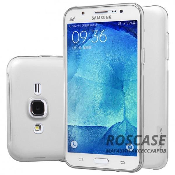 TPU чехол Nillkin Nature Series для Samsung J500H Galaxy J5 (Серый (прозрачный))Описание:производитель  -  бренд&amp;nbsp;Nillkin;совместим с Samsung J500H Galaxy J5;материал  -  термополиуретан;тип  -  накладка.&amp;nbsp;Особенности:в наличии все вырезы;не скользит в руках;тонкий дизайн;защита от ударов и царапин;прозрачный.<br><br>Тип: Чехол<br>Бренд: Nillkin<br>Материал: TPU