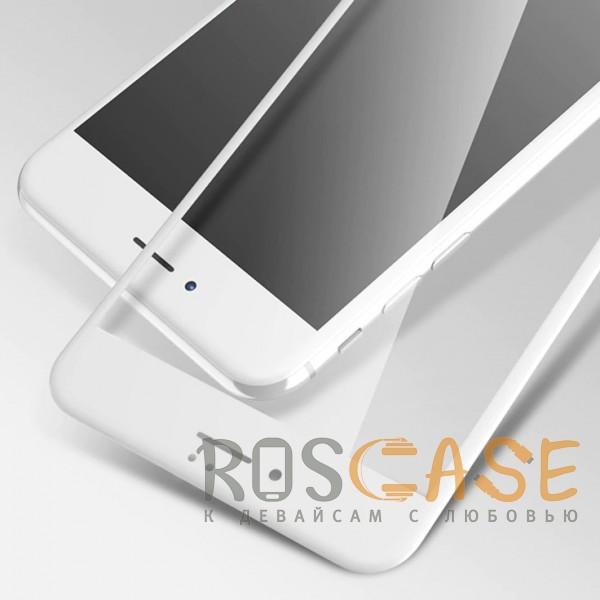 """Фотография Белое 5D защитное стекло для Apple iPhone 7 / 8 (4.7"""") на весь экран"""
