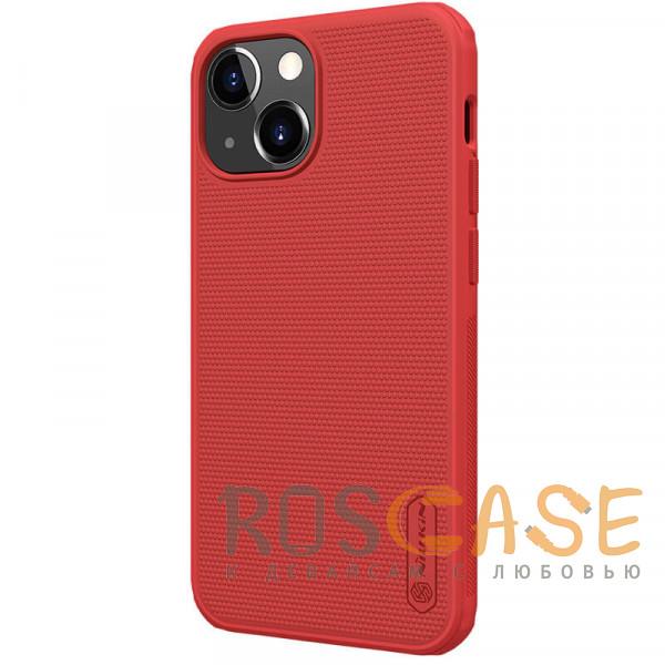 Фотография Красный Nillkin Super Frosted Shield Pro | Матовый пластиковый чехол для iPhone 13 Mini