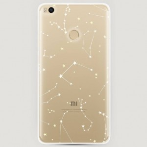 RosCase | Силиконовый чехол Созвездия на Xiaomi Mi Max 2