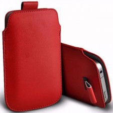 Кожаный чехол футляр с язычком для LG H422 Spirit
