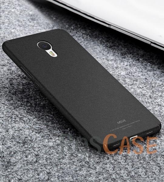 Пластиковый чехол Msvii Quicksand series для Meizu M3 Note (Черный)Описание:производитель - Msvii;совместим с Meizu M3 Note;материал  -  пластик;тип  -  накладка.&amp;nbsp;Особенности:матовая поверхность;имеет все разъемы;тонкий дизайн не увеличивает габариты;накладка не скользит;защищает от ударов и царапин;износостойкая.<br><br>Тип: Чехол<br>Бренд: Epik<br>Материал: Пластик