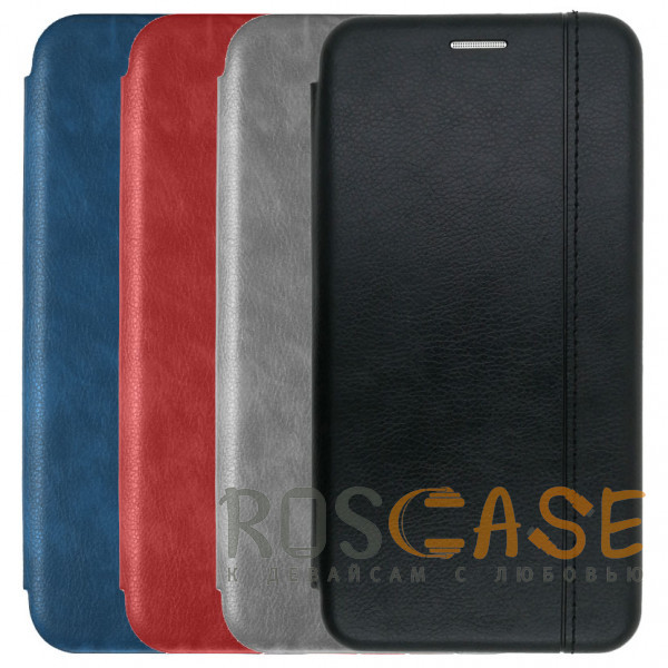 Фото Open Color 2   Чехол-книжка на магните для Samsung Galaxy Note 10 с подставкой и внутренним карманом