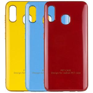 GLOSSY LOGO | Глянцевый гибкий чехол для Samsung Galaxy A20 / A30