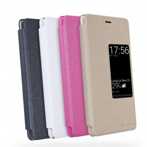 Nillkin Sparkle | Чехол-книжка с функцией Sleep Mode для Huawei P9 Plus