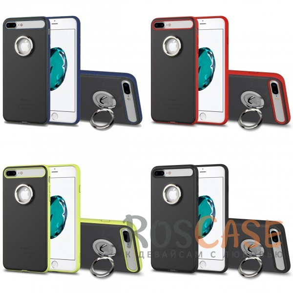 TPU+PC чехол Rock Ring Holder Case M2 Series для Apple iPhone 7 plus (5.5)Описание:произведен компанией&amp;nbsp;Rock;разработан для Apple iPhone 7 plus (5.5);материалы: термополиуретан и поликарбонат;тип: накладка.<br><br>Тип: Чехол<br>Бренд: ROCK<br>Материал: TPU