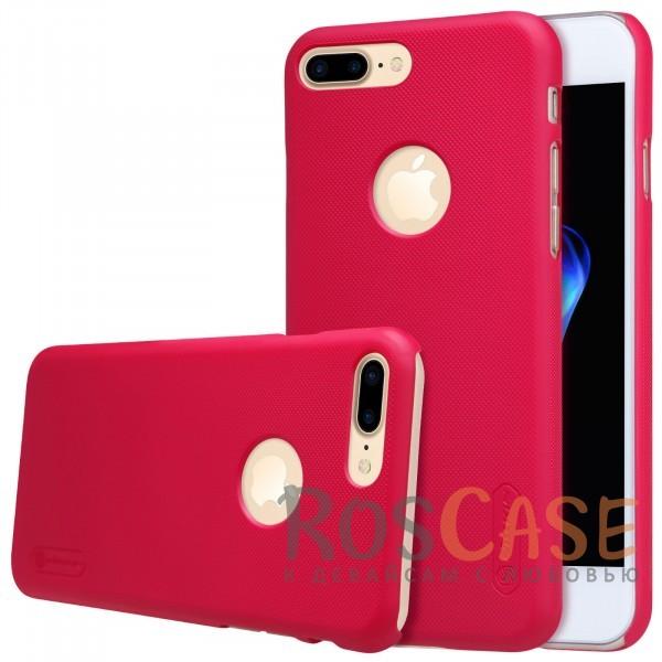 Чехол Nillkin Matte для Apple iPhone 7 plus (5.5) (+ пленка) (Красный)Описание:бренд&amp;nbsp;Nillkin;спроектирована для&amp;nbsp;Apple iPhone 7 plus (5.5);материал - поликарбонат;тип - накладка.Особенности:фактурная поверхность;защита от ударов и царапин;тонкий дизайн;наличие функциональных вырезов;пленка на экран в комплекте.<br><br>Тип: Чехол<br>Бренд: Nillkin<br>Материал: Поликарбонат