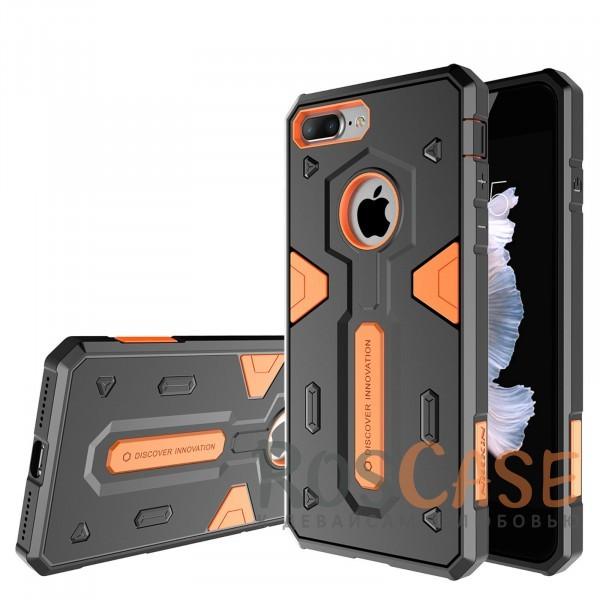 TPU+PC чехол Nillkin Defender 2 для Apple iPhone 7 plus (5.5) (Оранжевый)Описание:производитель  - &amp;nbsp;Nillkin;совместим с Apple iPhone 7 plus (5.5);материал  -  термополиуретан, поликарбонат;тип  -  накладка.&amp;nbsp;Особенности:в наличии все вырезы;противоударный;стильный дизайн;надежно фиксируется;защита от повреждений.<br><br>Тип: Чехол<br>Бренд: Nillkin<br>Материал: TPU