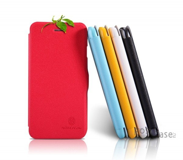 Кожаный чехол (книжка) Nillkin Fresh Series для Apple iPhone 6/6s plus (5.5)Описание:Изготовлен компанией&amp;nbsp;Nillkin;Спроектирован персонально для&amp;nbsp;Apple iPhone 6/6s plus (5.5);Материал: синтетическая высококачественная кожа и полиуретан;Форма: чехол в виде книжки.Особенности:Исключается появление царапин и возникновение потертостей;Восхитительная амортизация при любом ударе;Фактурная поверхность;Не подвержен деформации;Непритязателен в уходе.<br><br>Тип: Чехол<br>Бренд: Nillkin<br>Материал: Искусственная кожа